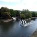 Pulteney Weir, River Avon, Grand Parade, Bath 5 September 2018