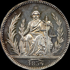 1854 Paraguay design