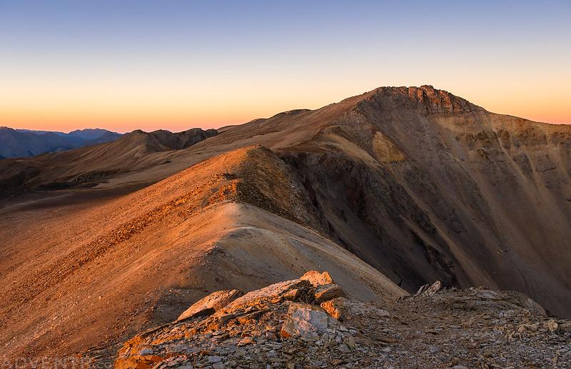Telluride Peak at Sunrise