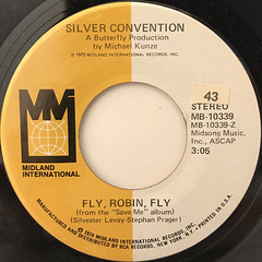 SILVER CONVENTION:FLY, ROBIN, FLY(LABEL SIDE-A)