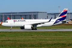 D-AVVE // LATAM Airlines Chile // A320-271N // MSN 8166 // CC-BHC
