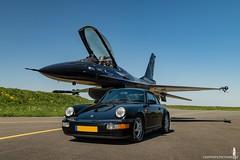911 & F-16 - Porsche & Lockheed Martin - Flat 6 & Pratt&Whitney - Car & Hunter