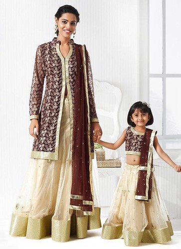 MD4043 Mother and Daughter Dresses- Lehenga Choli