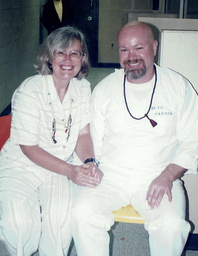 Lama Anna Cox with Frankie Parker circa 1995