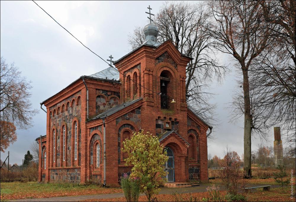 Лесковичи, Беларусь, Церковь св. Сергия