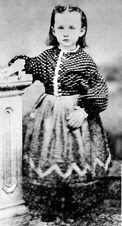 Anna Mary Robertson in the 1860s