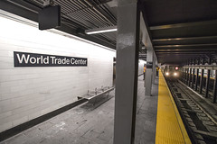 Opening of the new WTC Cortlandt (1) Station