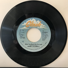 BOBBY CALDWELL:WHAT YOU WON'T DO FOR LOVE(RECORD SIDE-A)