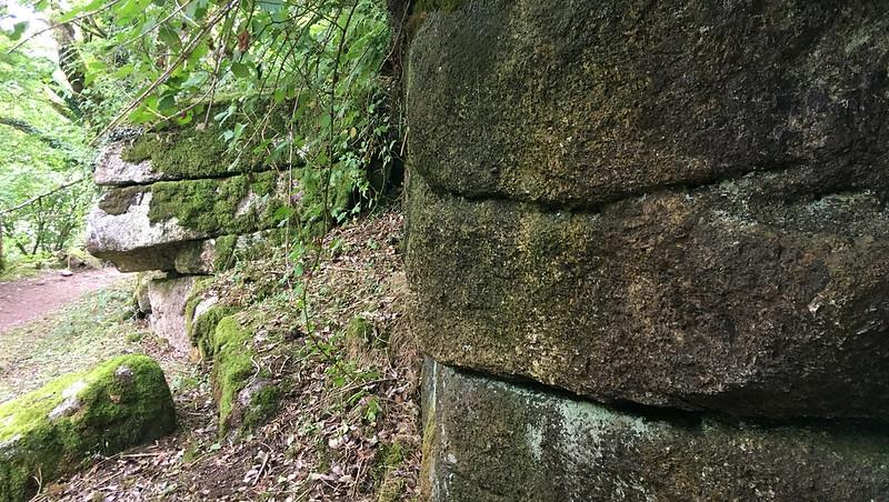 Badger's Holt (lower outcrop)