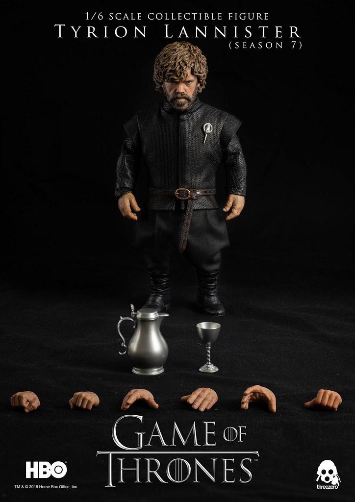 從「小惡魔」到龍后的「女王之手」! threezero《冰與火之歌:權力遊戲》提利昂·蘭尼斯特 (第七季) Tyrion Lannister (Season 7)  1/6 比例人偶作品 普通版 / 豪華版