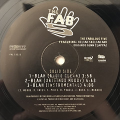 THE FAB 5:BLAH(LABEL SIDE-A)
