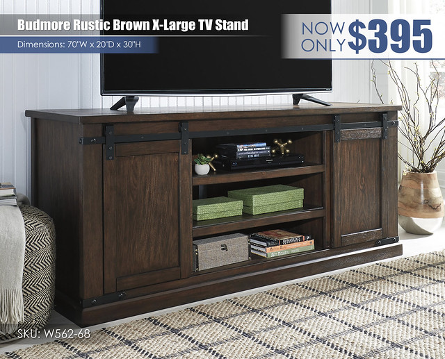 Budmore XL TV Stand_W562-68