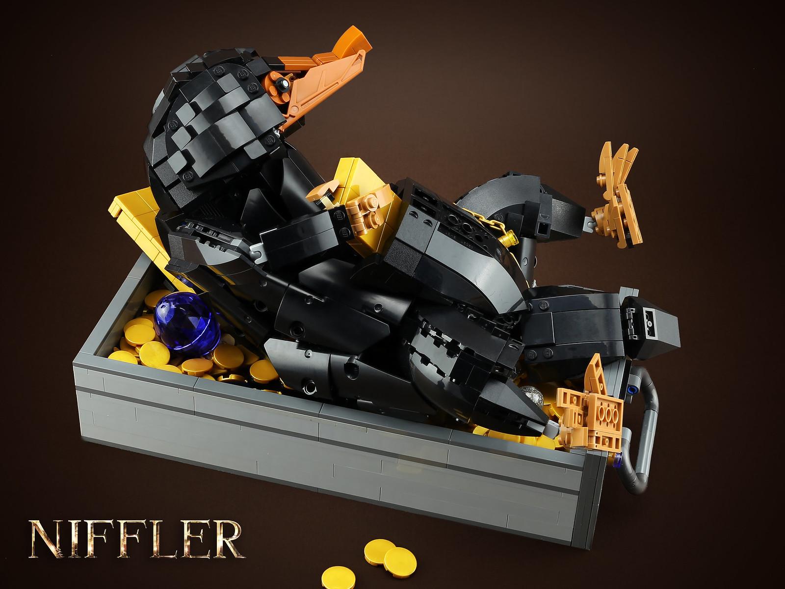 лего самоделка нюхлер