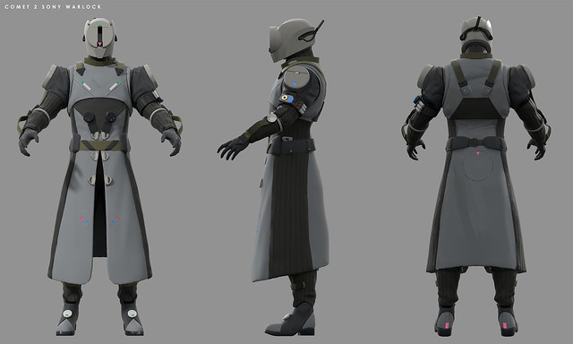 Destiny 2: Forsaken Concept Art – PlayStation-Exclusive Warlock Armor