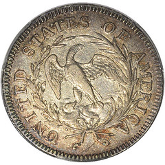 1796 Quarter reverse