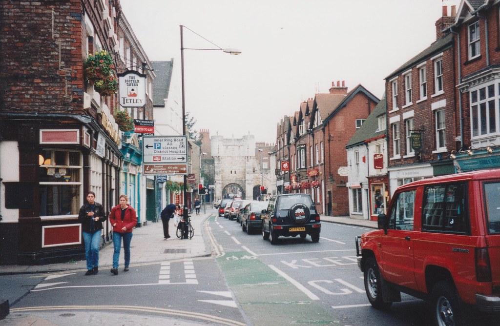 Bootham Bar, York, 6/9/1998