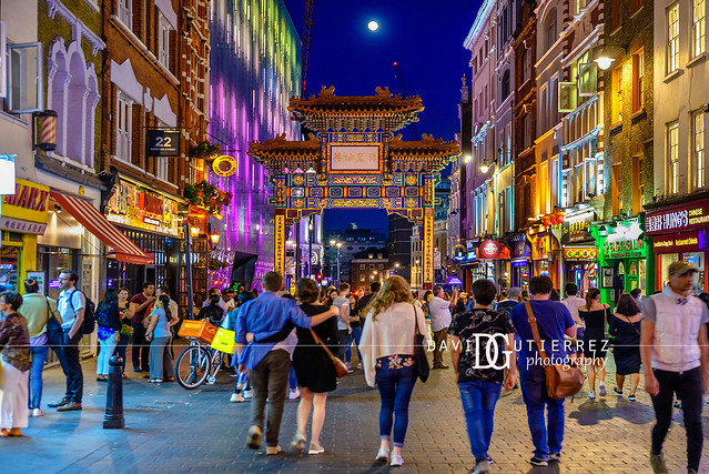 Moonlight II - Chinatown, London, UK