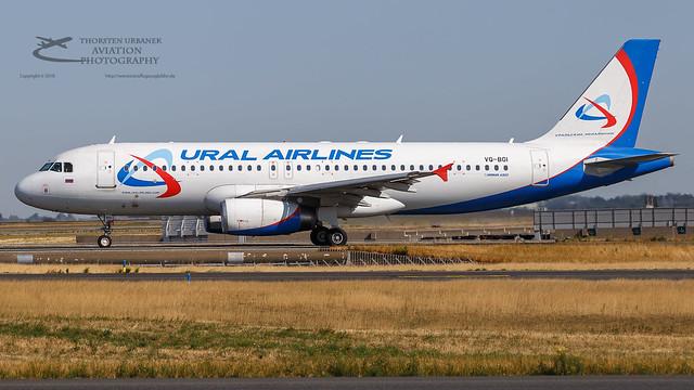 VQ-BGI Ural Airlines Airbus A320-232