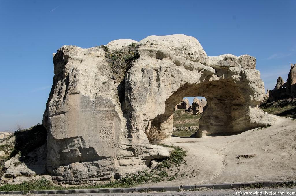 Пещерные храмы Гереме