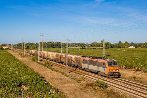 22 septembre 2018 BB 26220 Train 50043 Valenton -> St Jory Lalande-de-Pomerol (33)