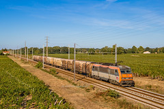 22 septembre 2018 BB 26220 Train 50043 Valenton -> St Jory Lalande-de-Pomerol (33) - Photo of Galgon