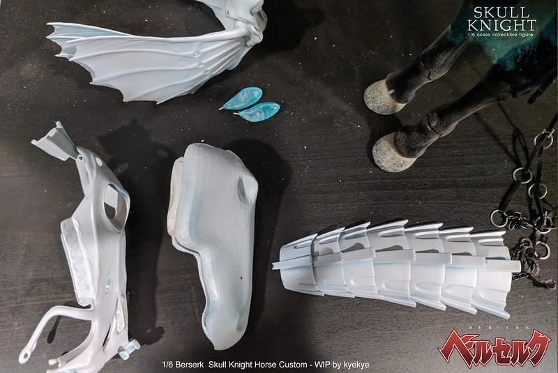 1/6 scale horse armor custom for Skull knight from [Berserk] 43213155555_2a658fb2df_c