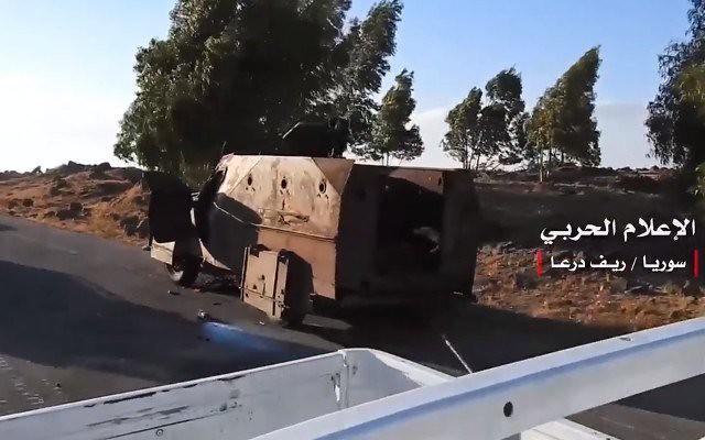 Btr152-toyota-lc-captured-from-Khalid-ibn-al-Walid-Army-yarmouk-basin-2018-mmtw-4