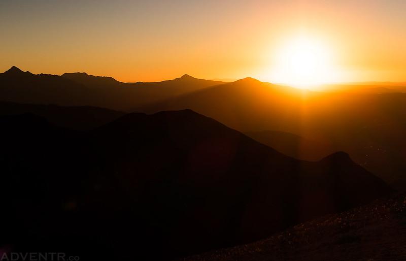 13,000 Feet Sunset