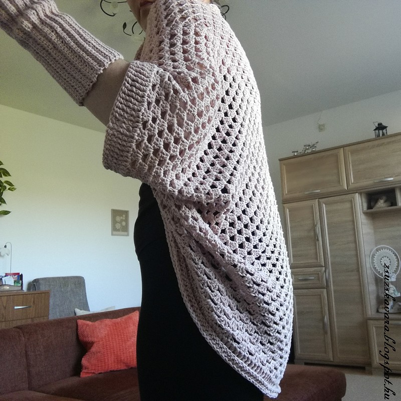 crochet ,cocoon cardigan, easy (2)