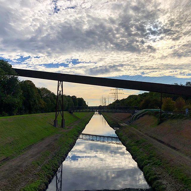 #Emscher #Nordstern #park #buga #gelsenkirchen #nordsternpark #reflektion #wasser #industriekultur #industrialculture #sunset #masteruser1999 #2018 #september #flickr