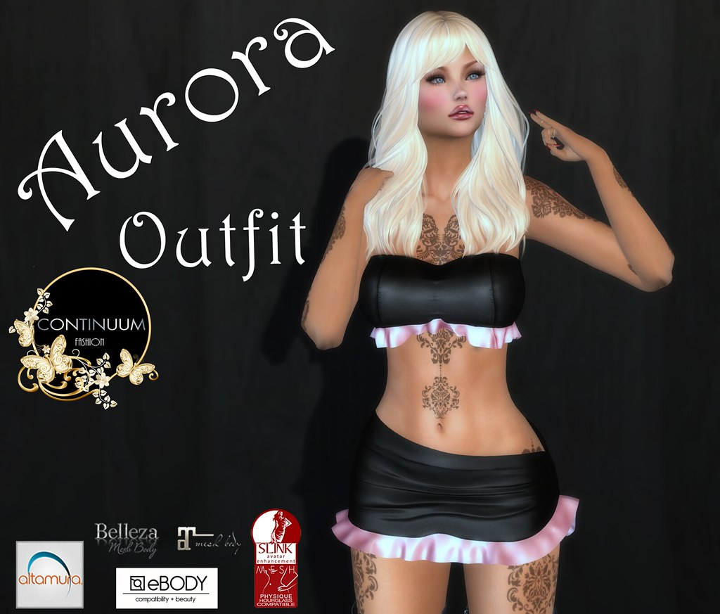 Continuum Aurora Outfit GIFT