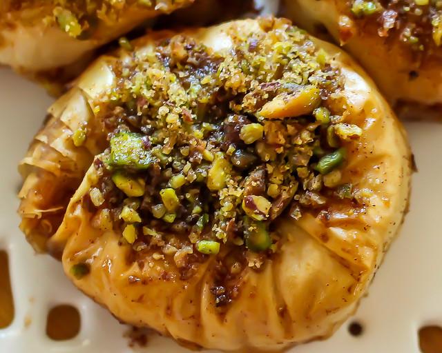 Anna Olson's Pistachio Walnut Baklava