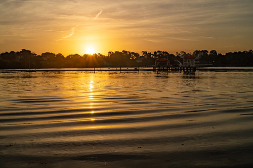 sunrise sun dawn sky cloud river hamble water warsash hampshire sony alpha a58