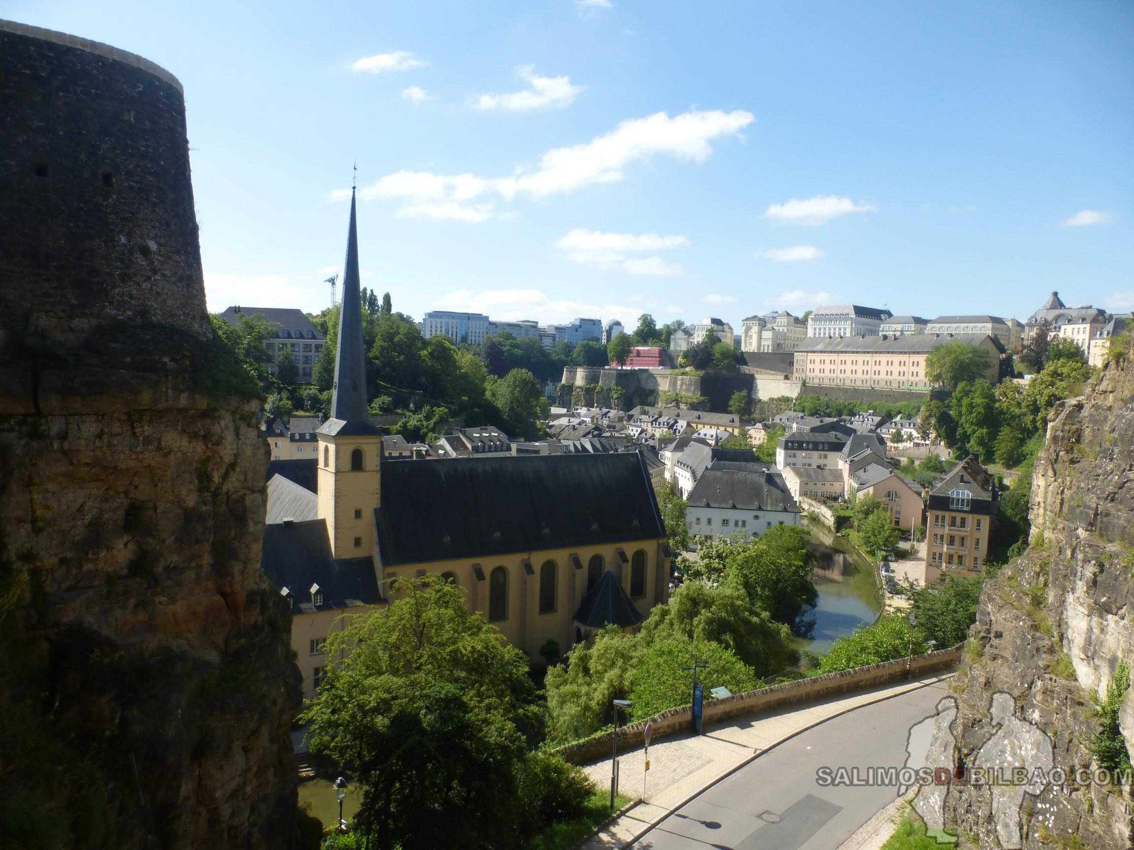 172. Vistas desde las Casamates, Luxemburgo
