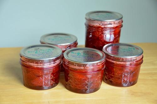 Vanilla Strawberry Preserves