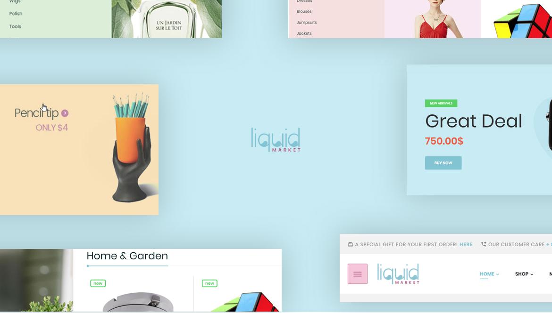 Leo Liquid - MultiStore Prestashop theme for Hitech, Fashion, Beauty, Furniture