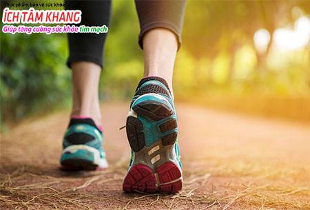 Đi bộ là cách tốt nhất cho những người sau đặt stent
