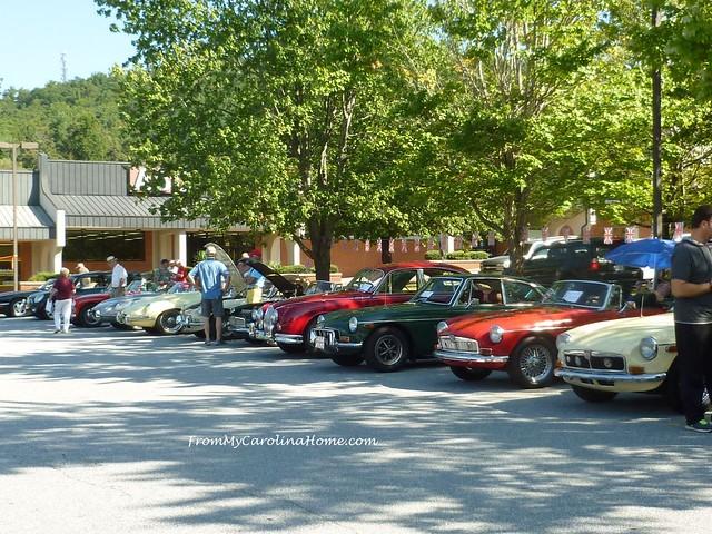 Laurel Park Car Show at FromMyCarolinaHome.com
