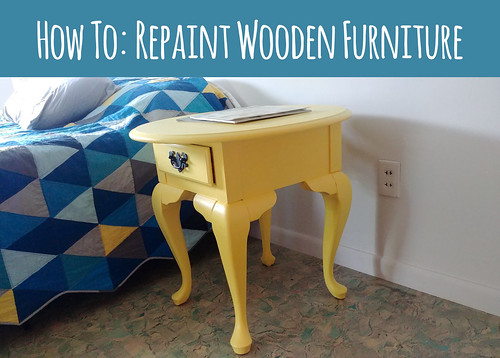 How To Repaint Wooden Furniture So It Doesn't Peel in 5 Years!