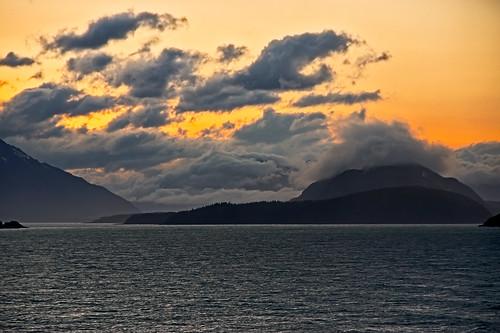 Leaving Skagway, Alaska.