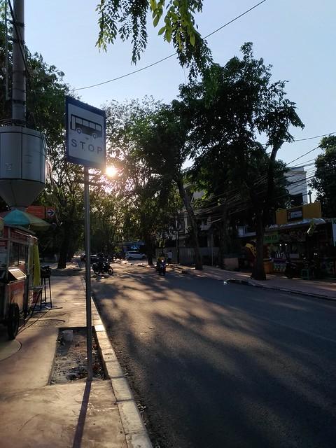 Jalan-jalan Sore di Jakarta Foto Asli