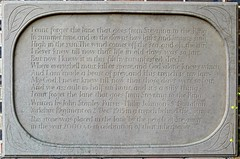 Steyning West Sussex: Memorial poem