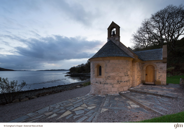 St Comghans Chapel, Kilchoan - Exterior (Photo Credit Kevin McCollum)