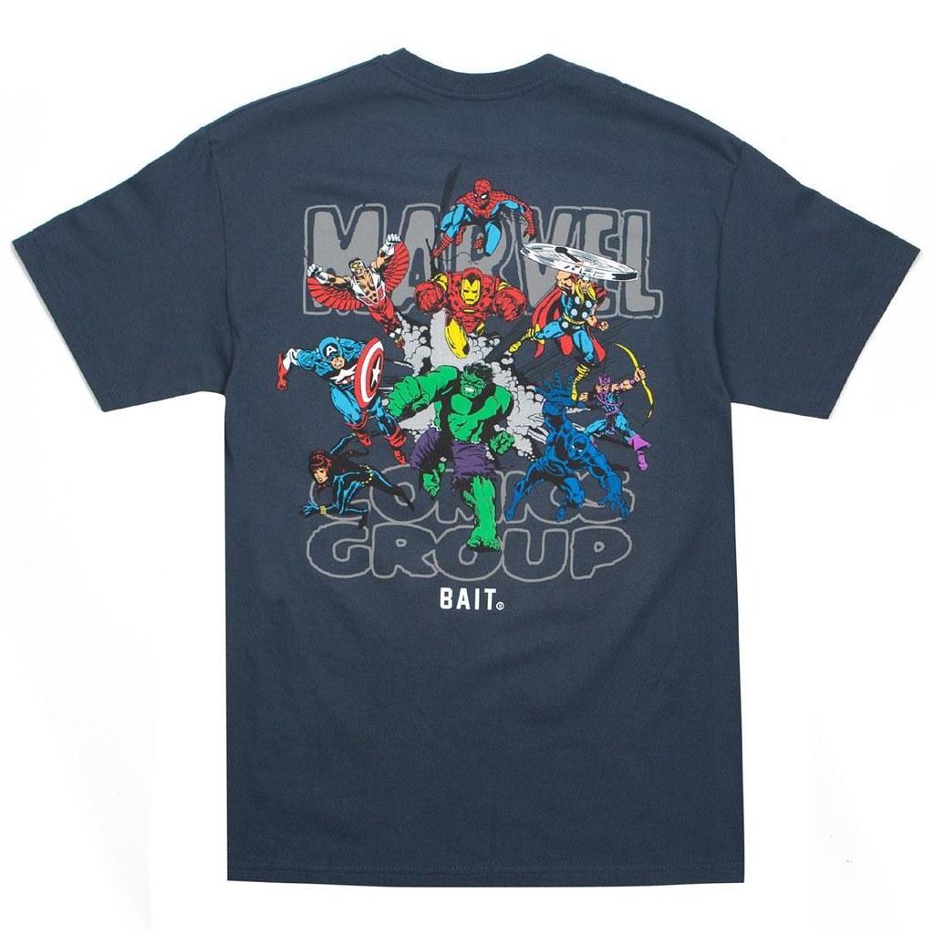 美漫迷大興奮!! BAIT x Marvel Comics【漫威英雄聯名T-Shirt、帽T】懷舊復古風登場~