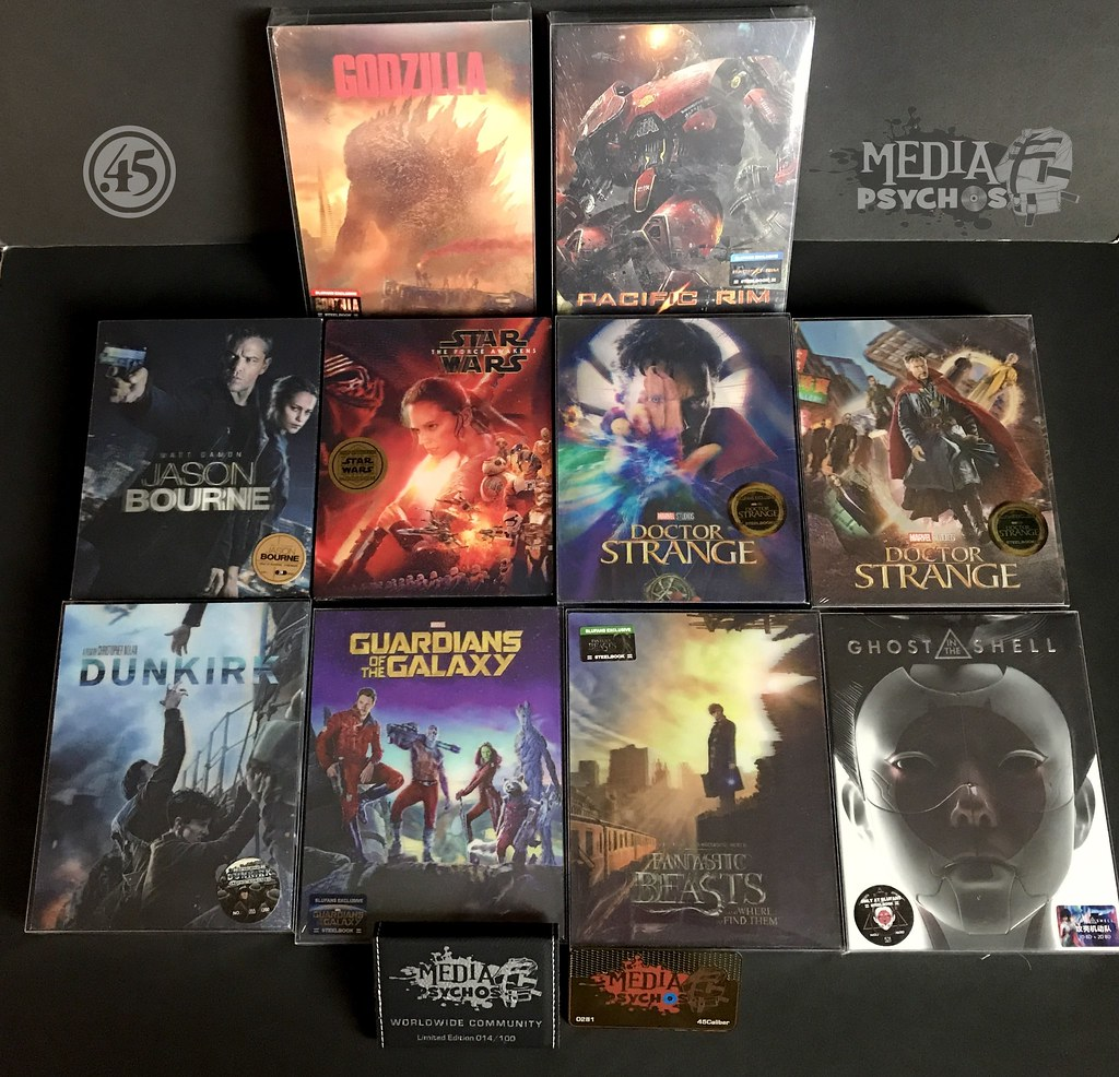 Blufans Collector - First 10 Awards - Media Psychos Steelbook Collections