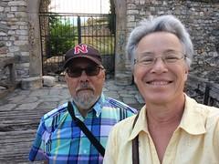 Ali & Catherine at Skopje Fortress