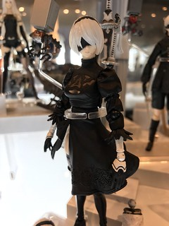 Bring Arts《Nier》Series 「2B ver.2」,「 Devola & Popola」, 「 Adam & Eve」Prototype Revealed!