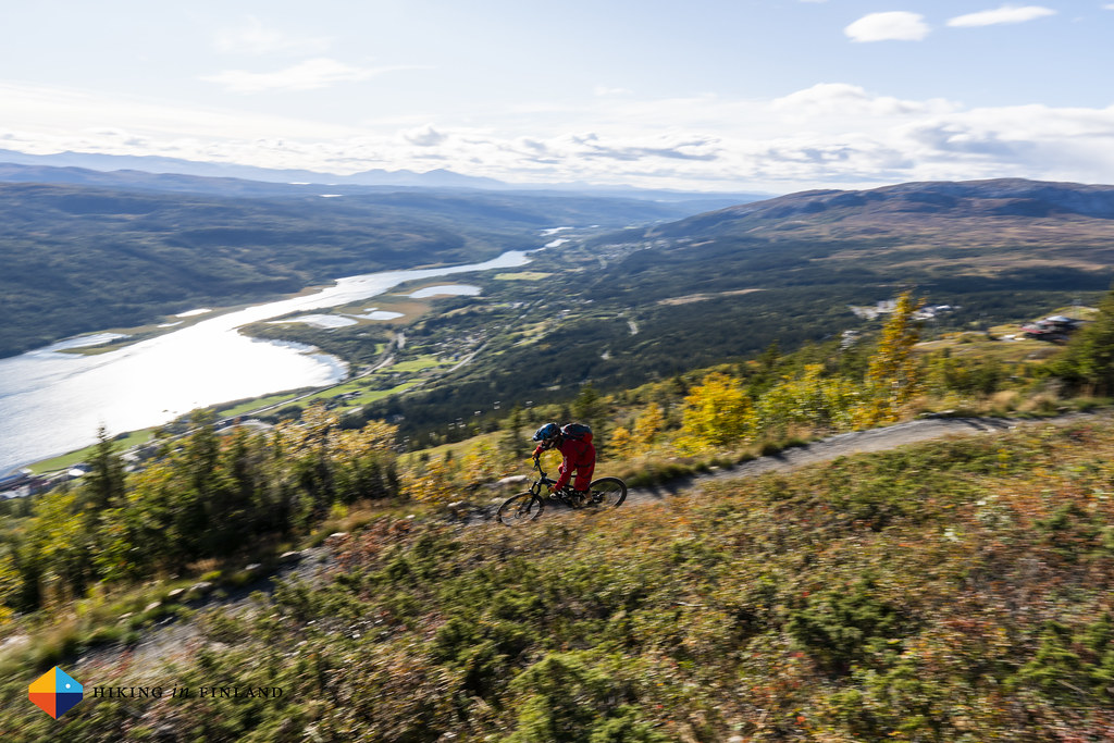 Downhill Biking in Åre