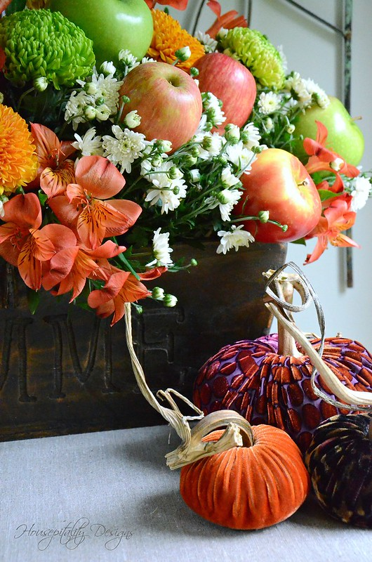 Fall Apple Centerpiece-Housepitality Designs-4