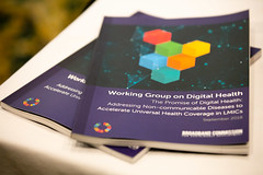 Working Group on Digital Health co-chaired by Novartis Foundation and Intel